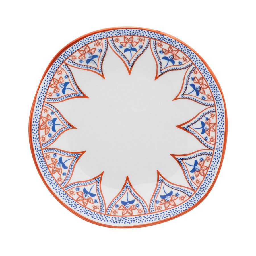 Conjunto 6 Pratos Fundos 22,5Cm Ryo Barcelos - Oxford Porcelanas