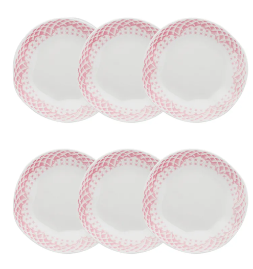 Conjunto 6 Pratos Fundos 22,5Cm Ryo Paris - Oxford Porcelanas