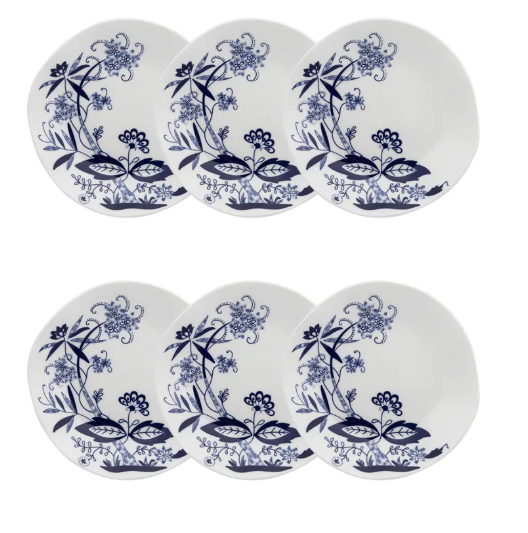 Conjunto 6 Pratos Fundos 22,5Cm Union - Oxford Porcelanas