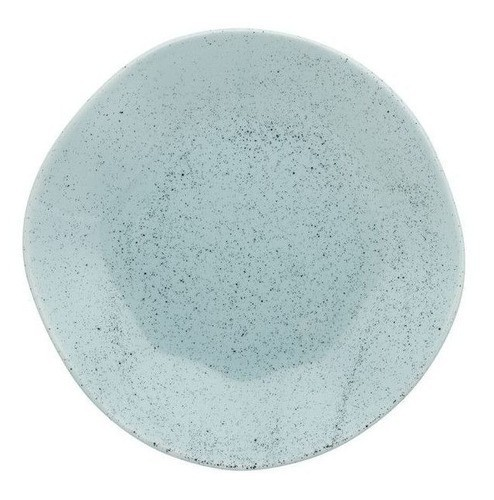 Conjunto 6 Pratos Rasos 27,5Cm Ryo Blue Bay - Oxford Porcelanas