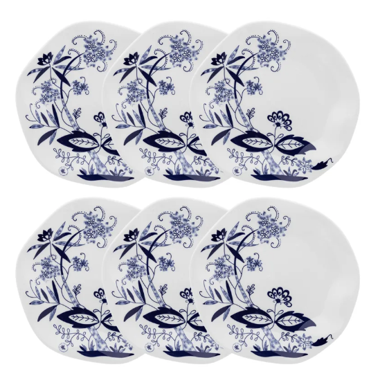 Conjunto 6 Pratos Rasos 27,5Cm Ryo Union - Oxford Porcelanas