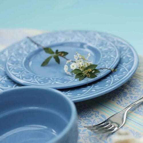 Conjunto 6 Pratos Sobremesa 20 Cm Mendi Capri - Oxford Daily