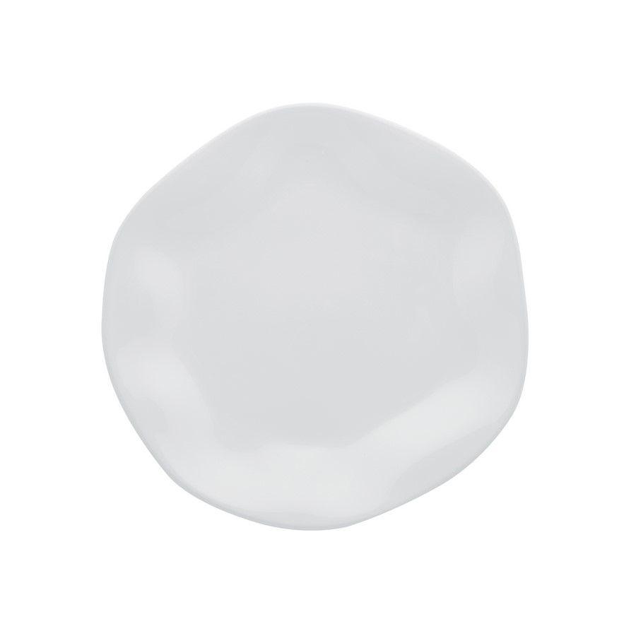Conjunto 6 Pratos Sobremesa 21,5Cm Ryo White - Oxford Porcelanas