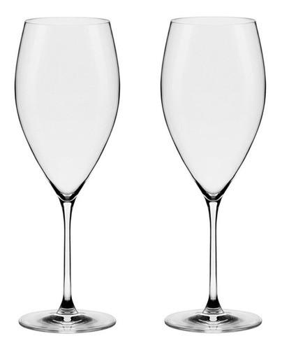 Conjunto C/02 Taças De Cristal 580Ml - Athenas Classic - Oxford Alumina Crystal
