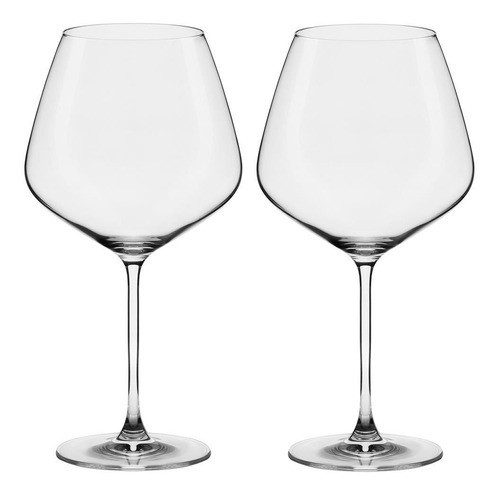 Conjunto C/02 Taças De Cristal Bourgogne 950Ml - Athenas Classic- Oxford Alumina Crystal