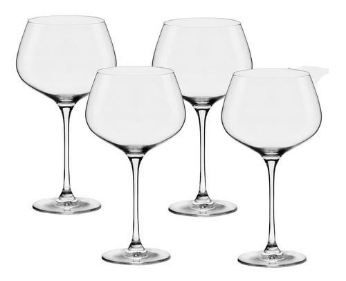 Conjunto C/04 Taças De Cristal Bourgogne 850Ml - Flavour - Oxford Alumina Crystal