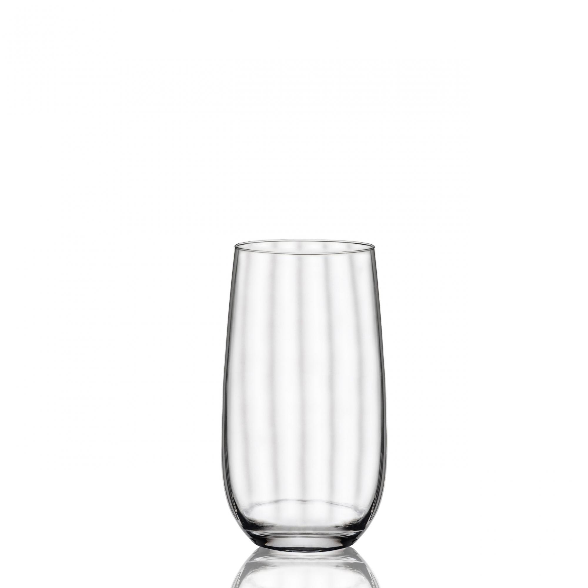 Conjunto C/06 Copos De Cristal 490Ml Long Drink Proper Effect Oxford