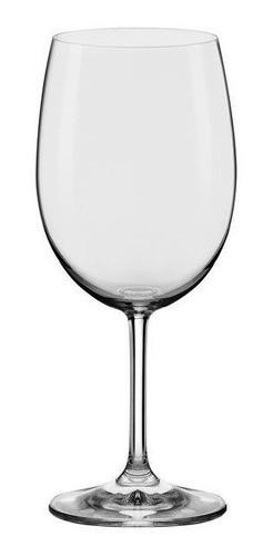 Conjunto C/06 Taças De Cristal Bordeaux 450Ml - Everyday - Oxford Alumina Crystal
