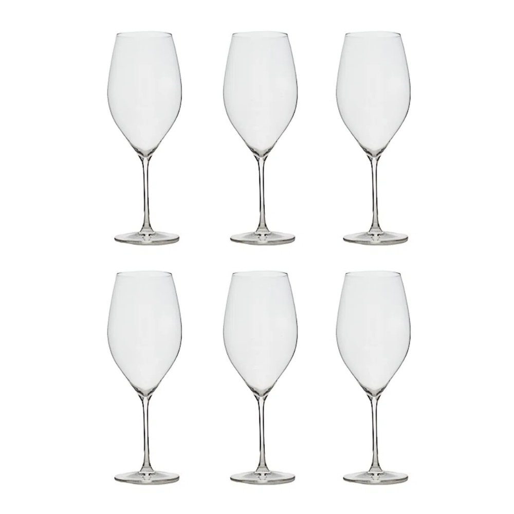 Conjunto C/06 Taças De Cristal Bordeaux 920Ml - Athenas Classic - Oxford Alumina Crystal