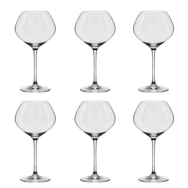 Conjunto C/06 Taças De Cristal Bourgogne 720Ml - Forever Classic - Oxford Alumina Crystal