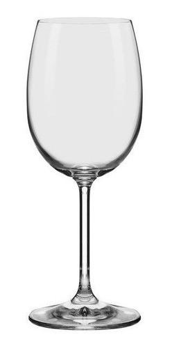 Conjunto C/06 Taças De Cristal Chardonnay / Água 350Ml - Everyday - Oxford Alumina Crystal