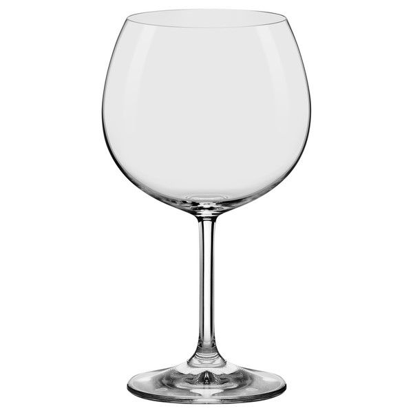 Conjunto C/06 Taças De Cristal Tinto | Bourgogne 460Ml - Everyday - Oxford Alumina Crystal