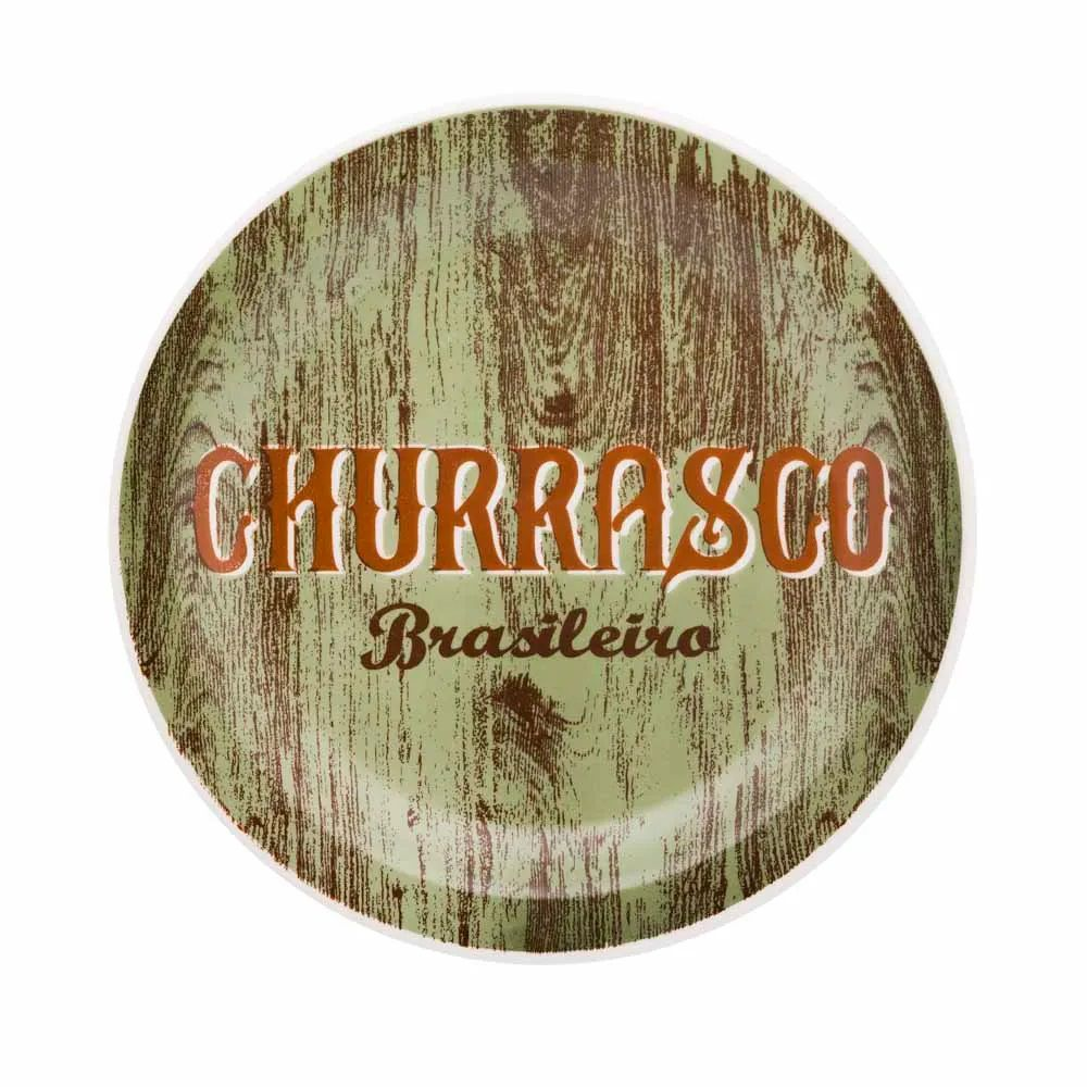 Conjunto Churrasco Brasileiro 6 Peças  - Oxford Daily