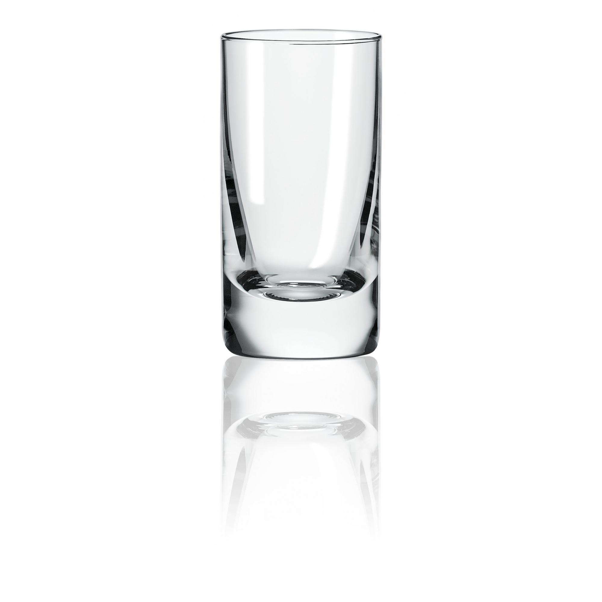 Conjunto Com 06 Copos De Cristal Para Cachaça 70ML Classic Oxford Alumina Crystal