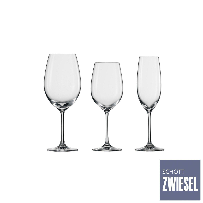 Conjunto Com 12 Taças Para Vinho e Champanhe - Schott-Zwiesel Ivento