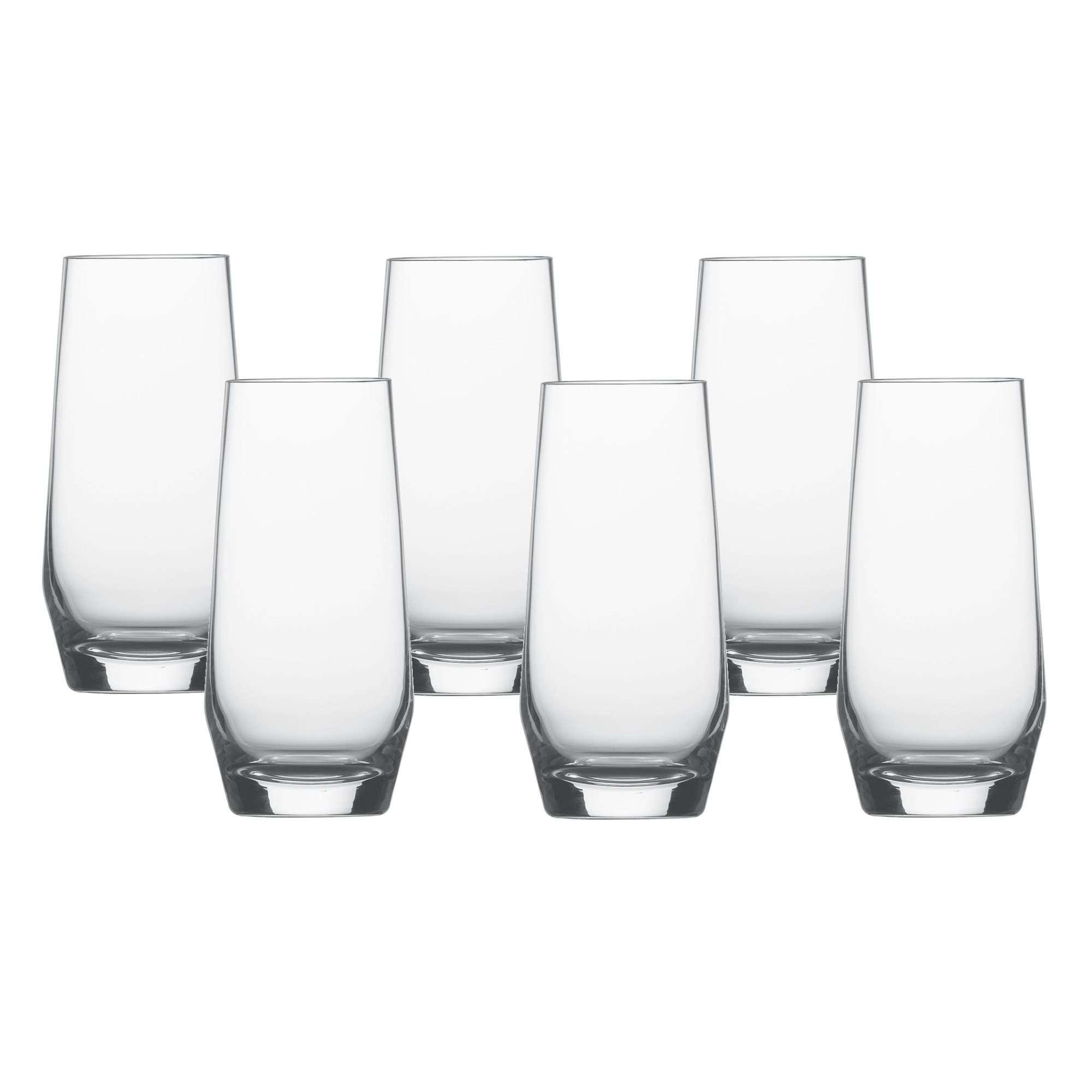 Conjunto Com 6 Copos Para Água E Suco 542 Ml  - Schott-Zwiesel Pure