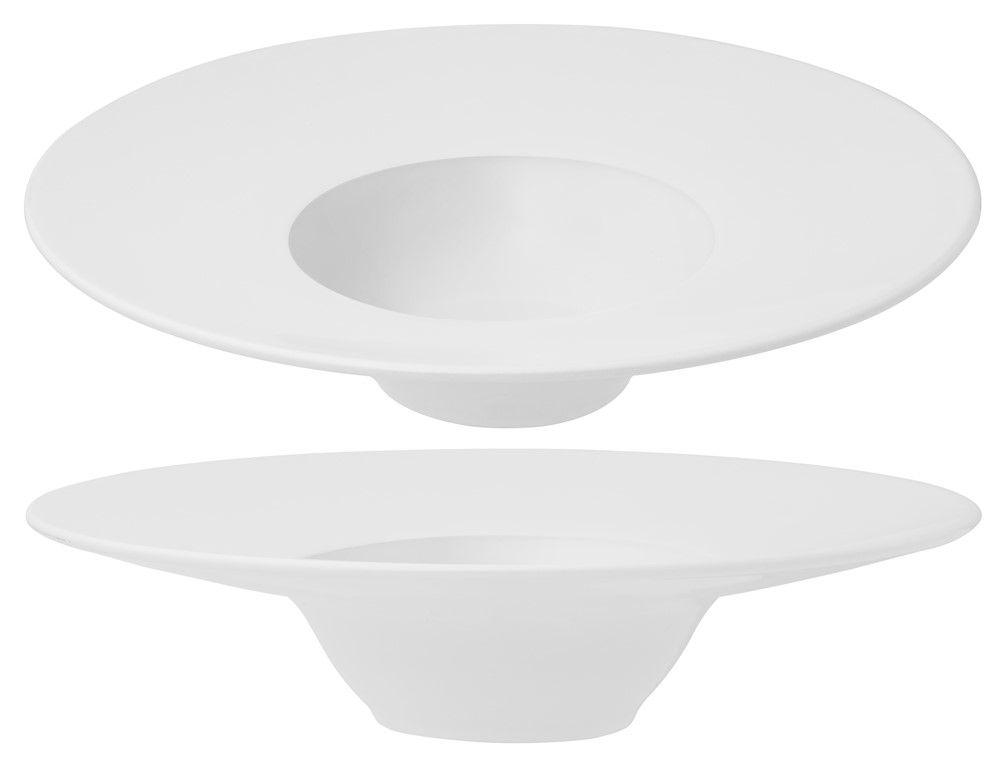 Conjunto Com 6 Pratos De Entrada Branco - Oxford Porcelanas