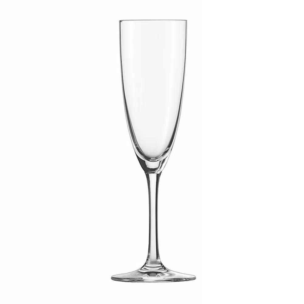Conjunto Com 6 Taças De Cristal Champagne E Prosseco Clássico 210 ML Schott Zwiesel
