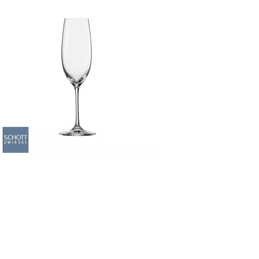 Conjunto Com 6 Taças Para Champagne Ivento 228 Ml Schott Zwiesel