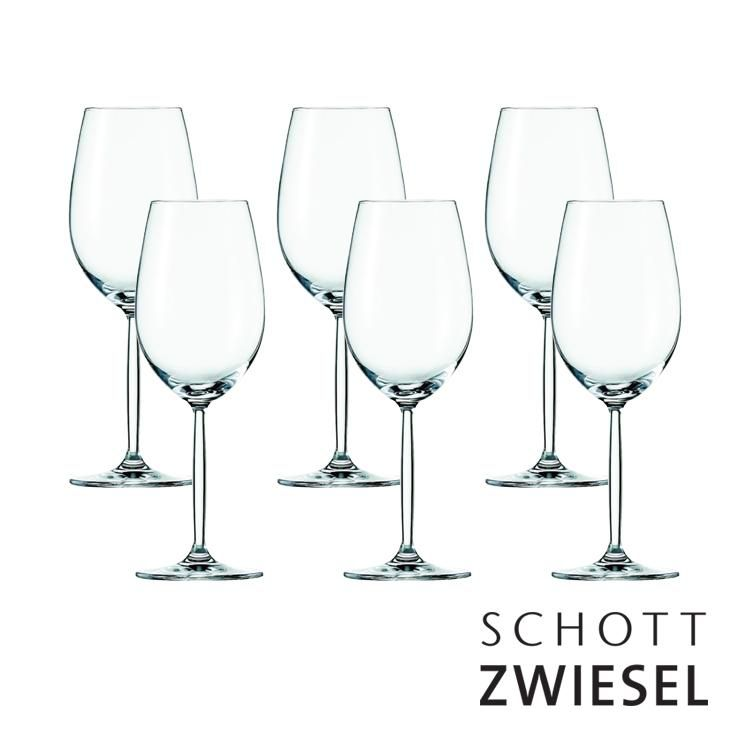 Conjunto Com 6 Taças Para Vinho Branco 302 Ml  - Schott-Zwiesel Diva