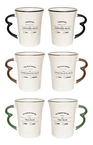 Conjunto de 03 Canecas Easy Hot Drinks Mug 330Ml - Oxford Daily