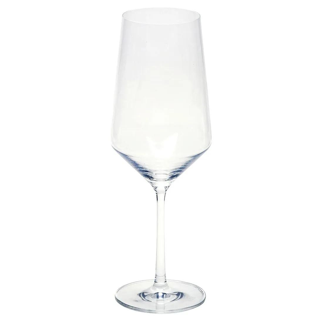 Conjunto De 06 Taças Bordeaux De Cristal Para Vinho 680 Ml Pure Schott Zwiesel
