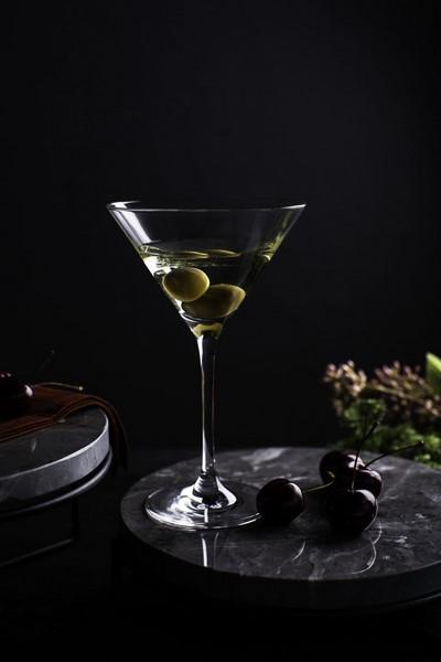 Conjunto De 06 Taças Cristal Dry Martini 210ml Oxford