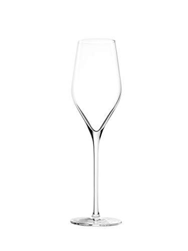Conjunto De 06 Taças De Cristais Para Champagne/ Prosecco 265 ML Linha Exquisit Royal  Stölzle Lausitz
