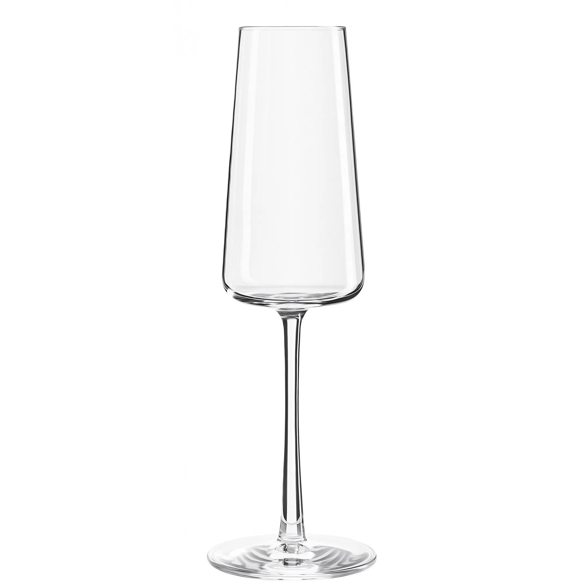 Conjunto De 06 Taças De Cristal Para Champagne/Prosecco 238Ml Linha Power Stölzle Lausitz