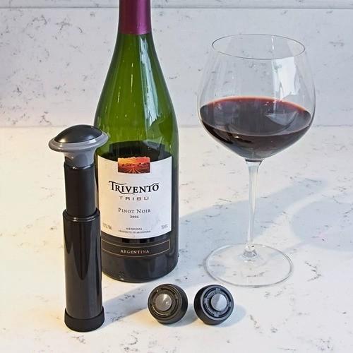 Conjunto De Bomba De Vácuo Para Vinho - Prana