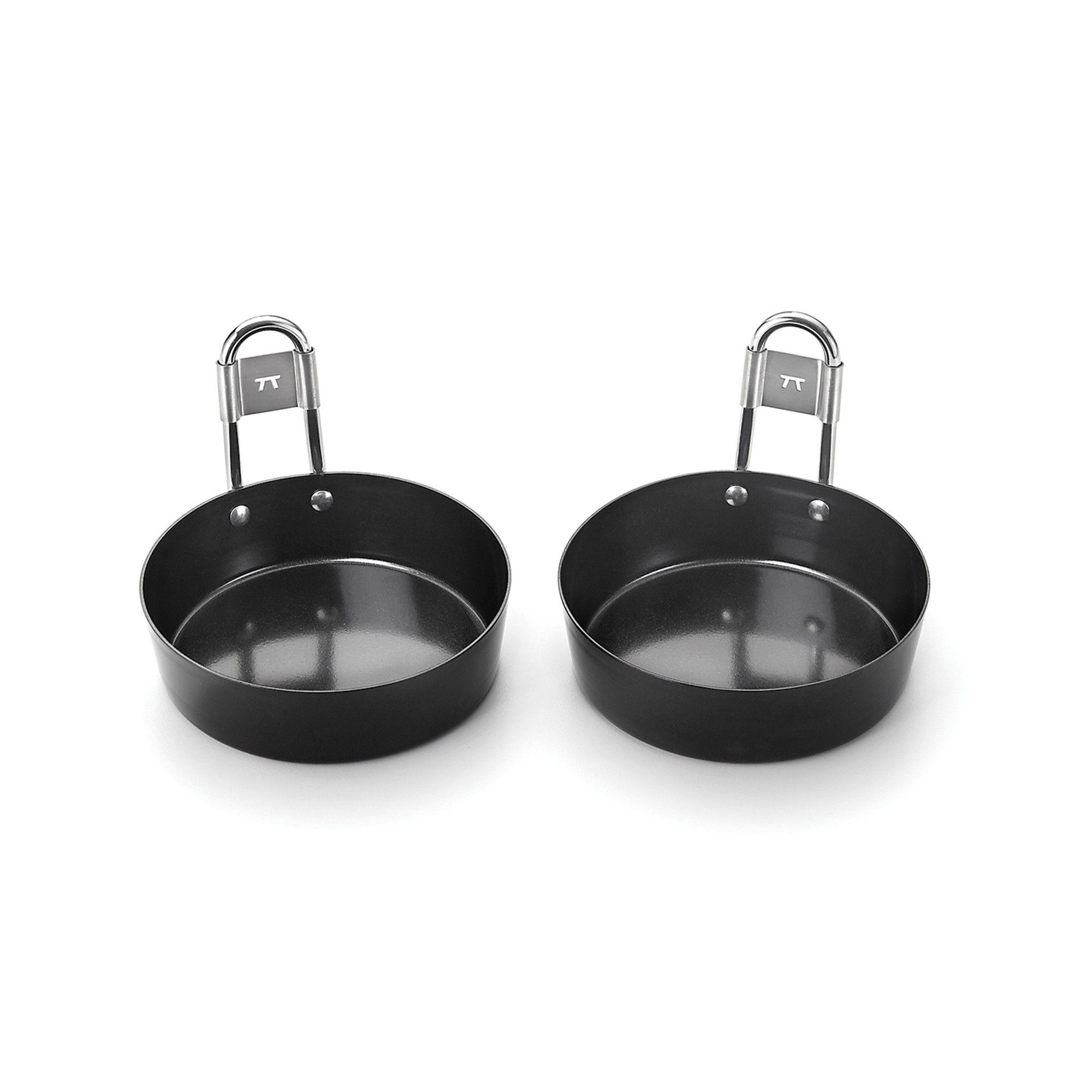 Conjunto De Mini Panelas Antiaderente Para Ovos - Outset