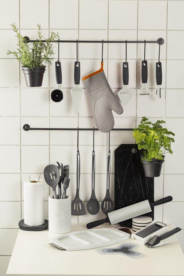 Conjunto De Utensílios Para Cozinha - Cool Grey - Oxford