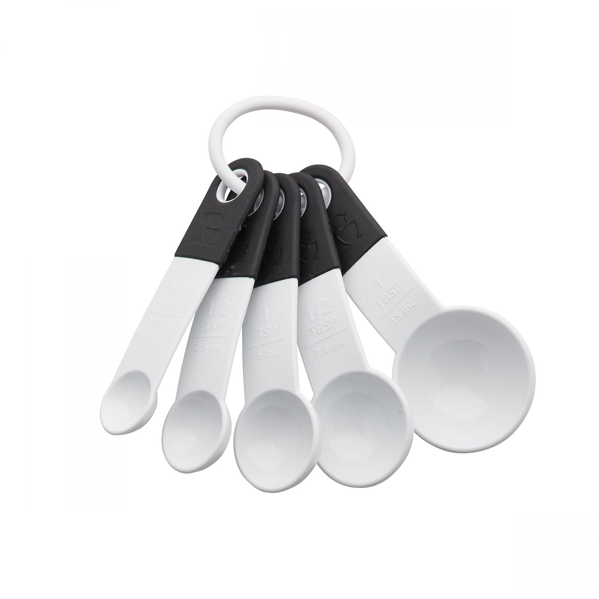 Conjunto 5 Colheres Medidoras KitchenAid - Branco