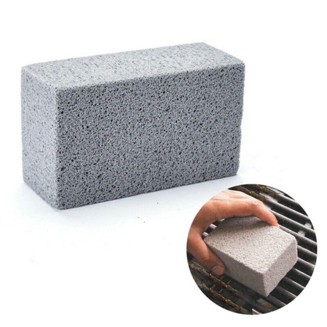 Pedra Para Limpeza De Grelhas, Inox E Peças Sanitárias Prana