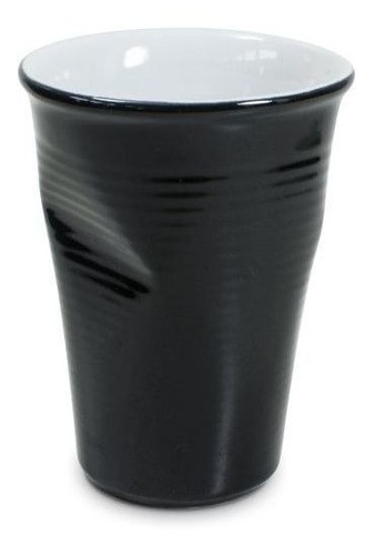 Copo De Cerâmica Plastic 240Ml Preto Ceraflame