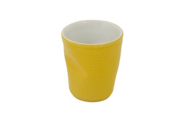 Copo De Cerâmica Plastic Espresso 70Ml  -  Amarelo