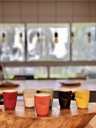 Copo De Cerâmica Plastic Espresso 70Ml Laranja