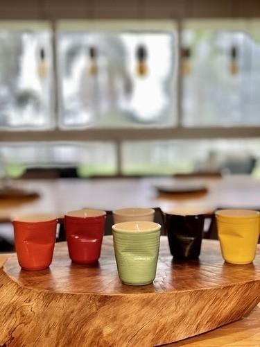 Copo De Cerâmica Plastic Espresso 70Ml  Pistache