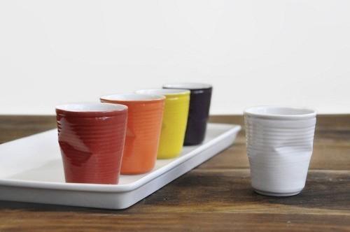 Copo De Cerâmica Plastic Espresso 70Ml  Vermelho