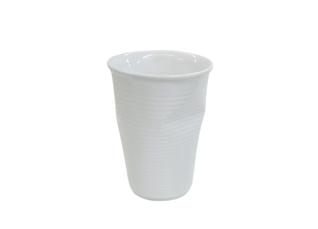 Copo De Cerâmica Plastic Espresso 240Ml  Branco