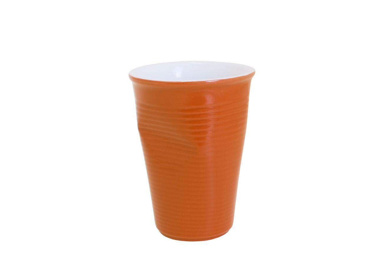 Copo De Cerâmica Plastic Espresso 240Ml Laranja