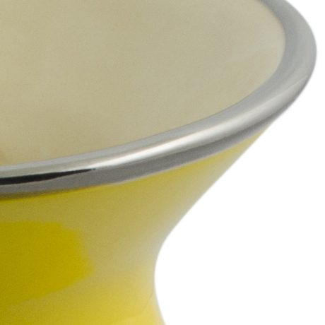 Cuia De Cerâmica Ceraflame Lisa Média - Amarela