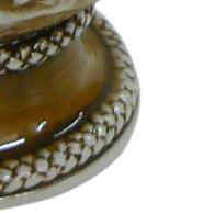 Cuia De Cerâmica  Rio Grande Grande Do Sul Alto Relevo 500Ml Ceraflame