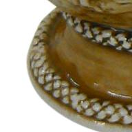 Cuia De Cerâmica Santa Catarina Alto Relevo 350Ml Ceraflame