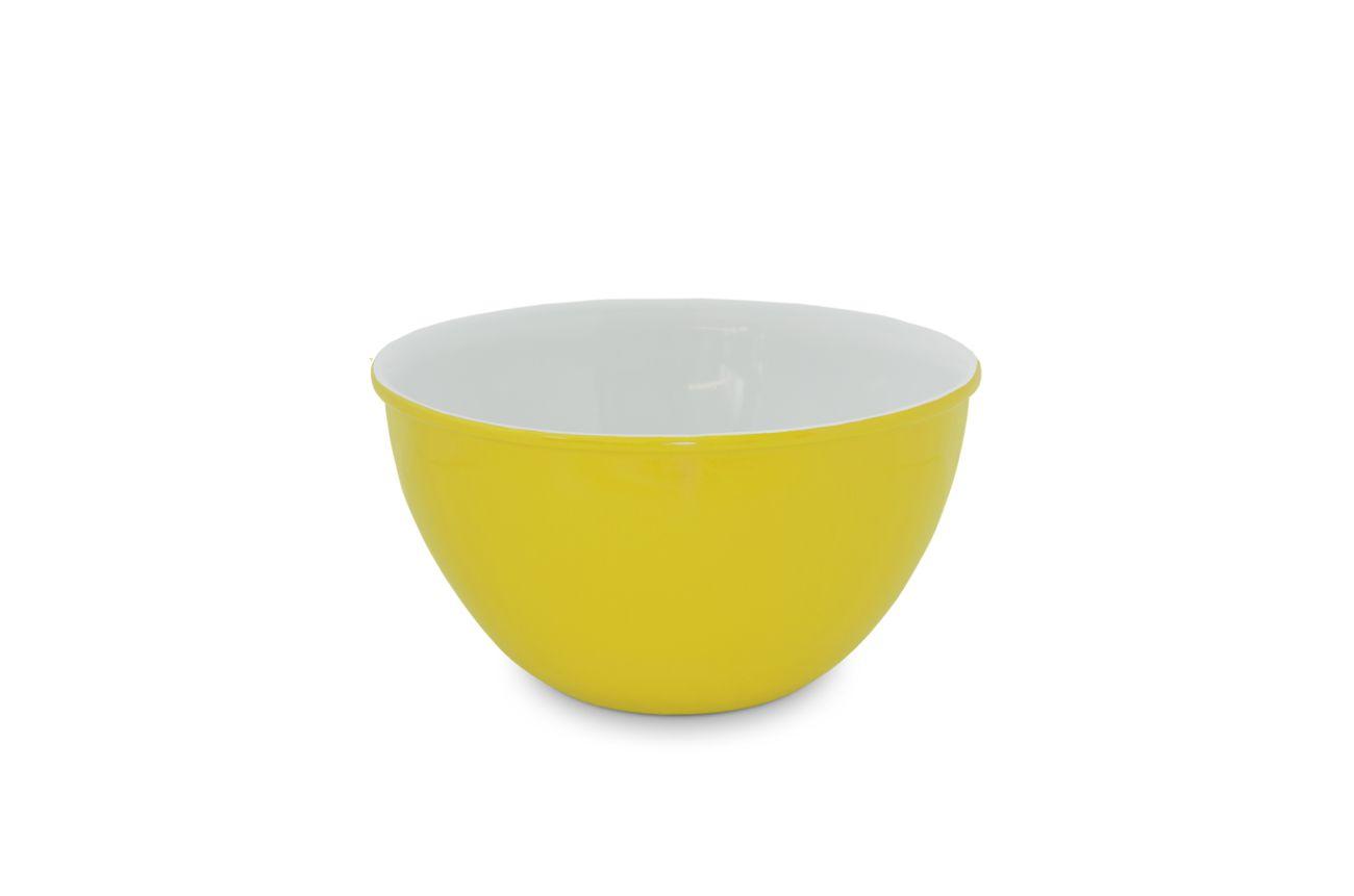 Bowl De Cerâmica Mondoceram 1500Ml - Amarelo