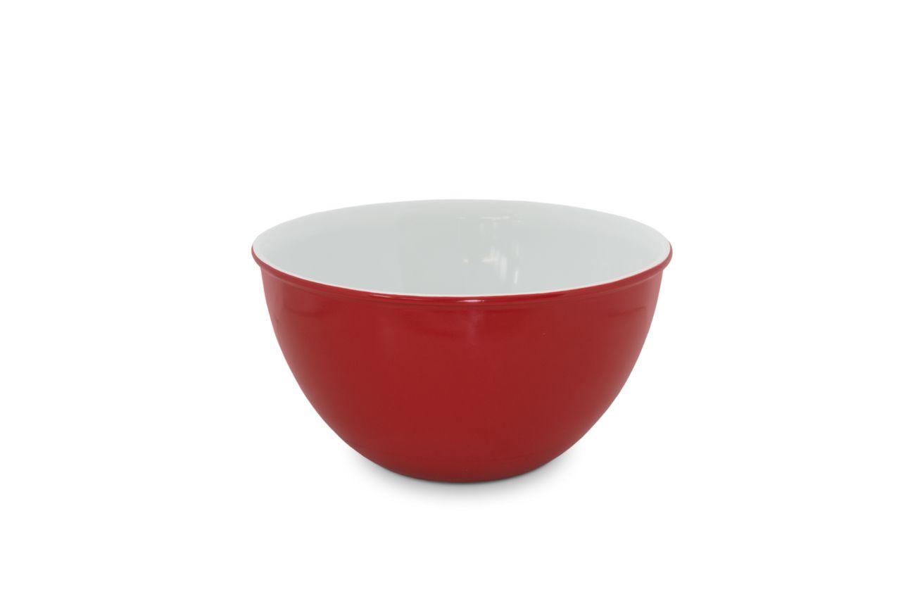 Bowl De Cerâmica Mondoceram 1500Ml - Vermelho