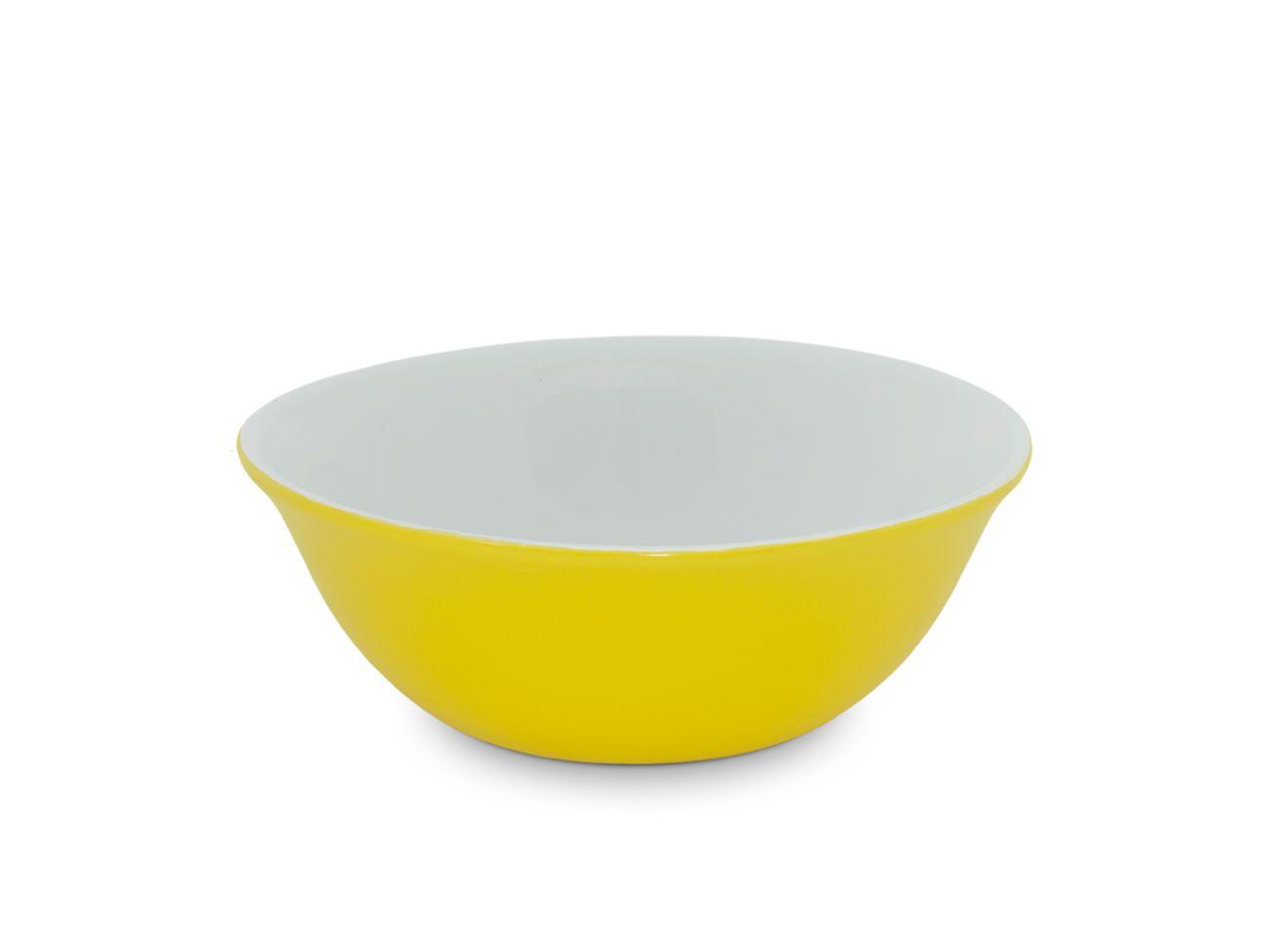 Bowl De Cerâmica Ceraflame 900Ml - Amarelo