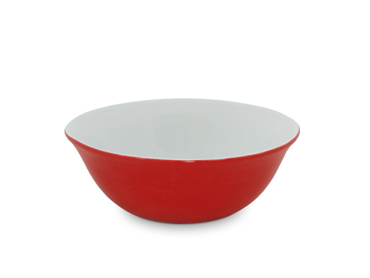 Bowl De Cerâmica Ceraflame 900Ml - Vermelho