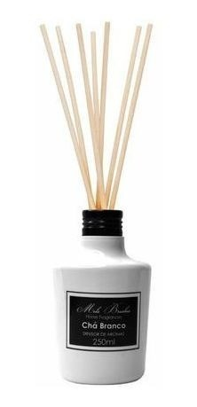 Difusor Black & White Chá Branco  - 250Ml - Mels Brushes