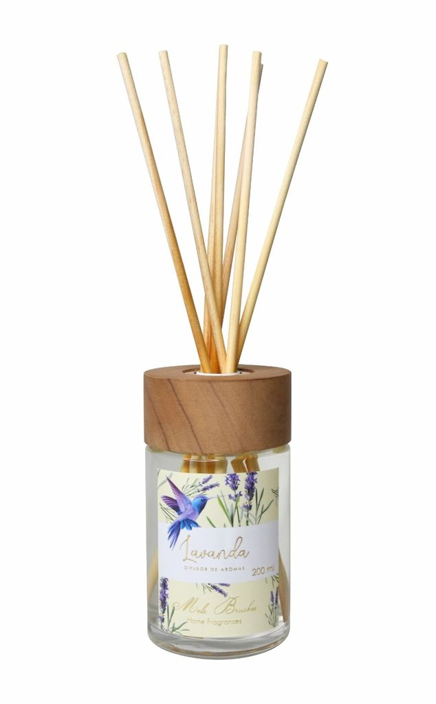 Difusor De Aromas 200 Ml Equilíbrio - Lavanda - Mels Brushes